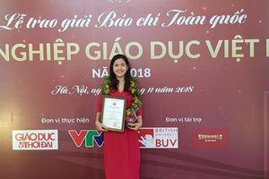 VietnamPlus đoạt giải báo chí 'Vì sự nghiệp Giáo dục Việt Nam'