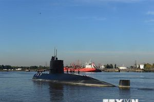 Argentina điều tra nguyên nhân tàu ngầm ARA San Juan bị chìm