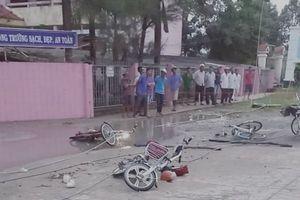 Lộ nguyên nhân vụ đứt dây điện ở cổng trường làm chết 2 học sinh