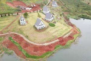 Hàng chục nhà gỗ 'bức tử' hồ Tuyền Lâm: Doanh nghiệp tự nguyện di dời