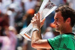Federer 'phớt lờ' cột mốc 100 danh hiệu ATP