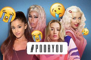 Ariana - Xtina - Nicki Minaj - Iggy: Chuyện 4 cô nàng tranh nhau danh hiệu… 'nhọ' nhất 2018