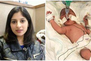 Mẹ bị bắn tử vong nhưng em bé trong bụng vẫn sống sót như một phép màu