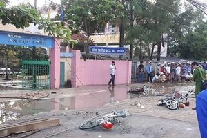 Kết luận vụ đứt dây điện trước cổng trường khiến 2 học sinh tử vong