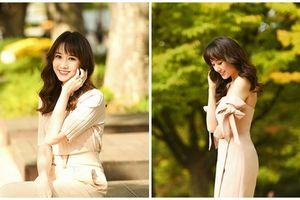 Hari Won xinh tươi trẻ trung trong bộ ảnh mới tại xứ sở Kim Chi