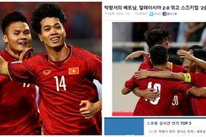 Báo chí quốc tế ca ngợi chiến thắng của đội tuyển Việt Nam trên sân Mỹ Đình