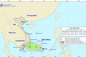 Quần đảo Trường Sa: Xuất hiện áp thấp nhiệt đới