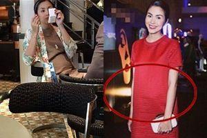 Lại một lần nữa Hà Tăng bị nghi có bầu lần 3 khi diện áo rộng cố che vòng 2 lùm lùm