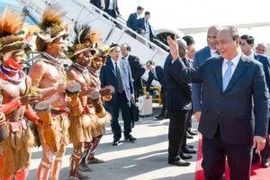 Thủ tướng đến Papua New Guinea, bắt đầu chuyến tham dự Hội nghị APEC 26