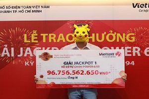Xuất hiện thêm một người trúng giải Vietlott hơn 52 tỷ đồng tối qua