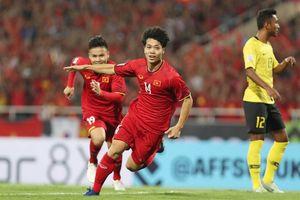 AFF Cup 2018: Những con số bất ngờ trong trận thắng của ĐT Việt Nam trước Malaysia