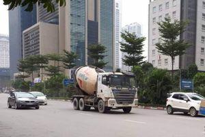 Xe bồn bê tông Việt Hàn bất chấp quyết định xử phạt vẫn 'tung hoành'