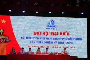 Đại hội đại biểu Hội Sinh viên thành phố Hải Phòng lần thứ V, nhiệm kỳ 2018 - 2023
