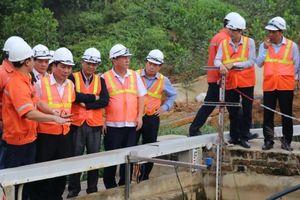 Chủ tịch UBND tỉnh Thái Nguyên thăm và làm việc tại Công ty Núi Pháo