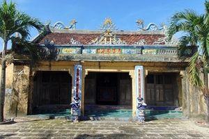 Giữ lại các di tích cổ trong khu du lịch sinh thái biển Nam Ô