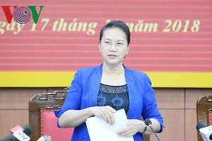 Chủ tịch Quốc hội thăm và làm việc tại tỉnh Thái Bình