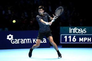 Highlights Djokovic vs Anderson: Bán kết ATP Finals 2018