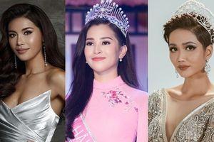 Inforgraphic: 'Cân đo' 6 Hoa hậu, Á hậu Việt thi nhan sắc quốc tế 2018