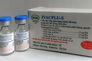 Vaccine cúm của Việt Nam rẻ bằng một nửa giá nhập khẩu