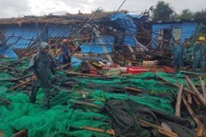 Áp thấp nhiệt đới gây nhiều thiệt hại tại tỉnh Phú Yên