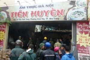 Sạt lở, ngập lụt nhiều nơi ở Nha Trang làm ít nhất 11 người tử vong