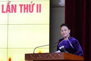 Chủ tịch Quốc hội dự Lễ kỷ niệm Ngày Nhà giáo Việt Nam tại Học viện Tài chính