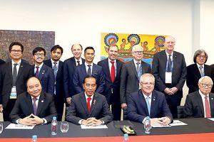 Thủ tướng Nguyễn Xuân Phúc dự Hội nghị cấp cao APEC lần thứ 26