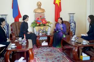 Liên đoàn Phụ nữ Mông Cổ mong muốn hợp tác với Việt Nam