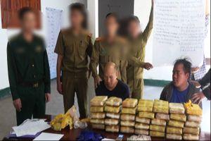 Phá thành công chuyên án 036Lv, bắt 2 đối tượng, thu 210.000 viên ma túy tổng hợp