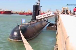 Tìm thấy tàu ngầm hải quân Argentina sau một năm mất tích