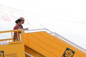 Tổng thống Ấn Độ và phu nhân đến Đà Nẵng bắt đầu chuyến thăm cấp Nhà nước Việt Nam