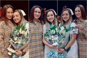 Phi Nhung về Mỹ mừng con gái tốt nghiệp đại học