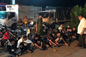 Cà Mau: Ngăn chặn, bắt giữ nhiều người đua xe