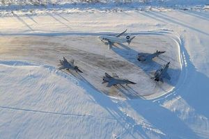 Bốn máy bay chiến đấu MiG-31 phải hạ cánh khẩn cấp