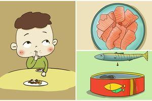 Thường xuyên cho trẻ ăn 4 loại cá này, con thông minh, ngoan khỏe, mẹ tha hồ mát mặt