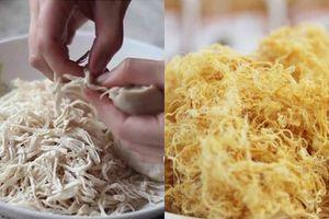 Cách làm ruốc thịt gà siêu ngon cho bé ăn cơm hết veo