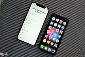 iPhone XR khóa mạng về VN: Không 'hot' bằng iPhone X cũ