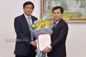 Ông Nguyễn Mạnh Hùng trở thành Phó Chủ nhiệm thứ 3 của Văn phòng Quốc hội
