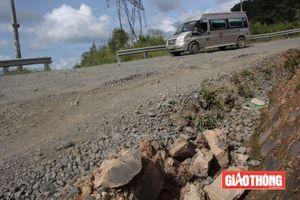 Quốc lộ 27 tan nát, tiềm ẩn nguy cơ tai nạn chết người