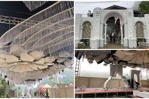Choáng với rạp cưới xa hoa trị giá 2,5 tỷ, dùng toàn hoa tươi chở bằng máy bay từ Đà Lạt