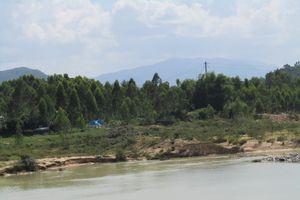 Bình Định: Phía Tây núi Hòn Chà kêu cứu bởi nạn khai thác đá và khai thác cát dưới sông Hà Thanh