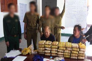 Điện Biên: Phá thành công chuyên án, bắt 2 đối tượng, thu giữ 210.000 viên ma túy
