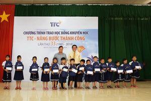 TTC trao học bổng lần thứ 33 cho 8 trường học tại Bến Tre