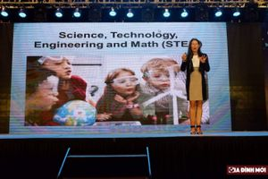 Hôm nay (18/11): Những diễn giả hàng đầu thế giới dự hội thảo quốc tế STEM tại Hà Nội