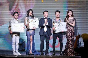 Ca sĩ Yến Ngọc đạt giải 'Sao việt có mái tóc đẹp'