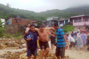Mưa lũ gây thiệt hại nặng về người và tài sản tại các tỉnh Nam Trung Bộ