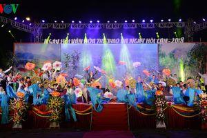 Sơn La: Khai mạc ngày hội văn hóa, thể thao và ngày hội cam Phù Yên