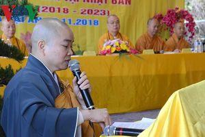 Hội phật tử Việt Nam tại Nhật Bản ra mắt nhân sự mới