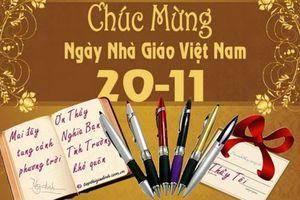 Những lời chúc tặng thầy cô ngày Nhà giáo Việt Nam 20/11 hay nhất