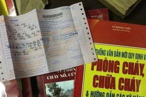 Giả mạo cảnh sát PCCC bắt ép dân phải mua sách chữa cháy, cứu hộ